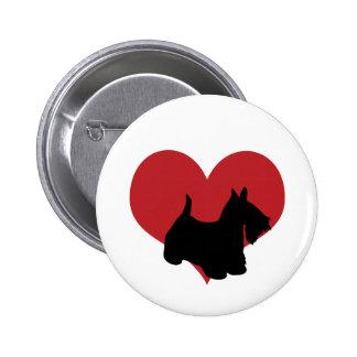 Scottish Terrier Pinback Button