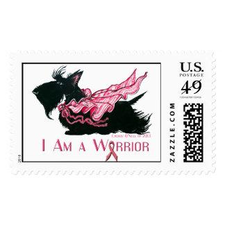 Scottish Terrier Cancer Warrior Postage