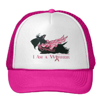 Scottish Terrier Cancer Warrior Trucker Hat