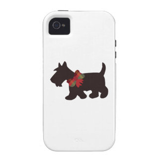 Scottish Terrier Vibe iPhone 4 Covers