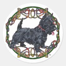 Scottish Terrier Celtic Knotwork
