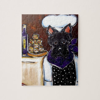 Scottish Terrier Chef Jigsaw Puzzle