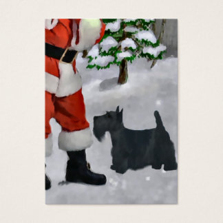Scottish Terrier Christmas Gifts Business Card