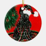 Scottish Terrier Christmas Ornaments