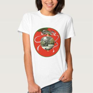 Scottish Terrier Christmas Scene Shirt