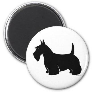 Scottish Terrier Classic Silhouette Magnet