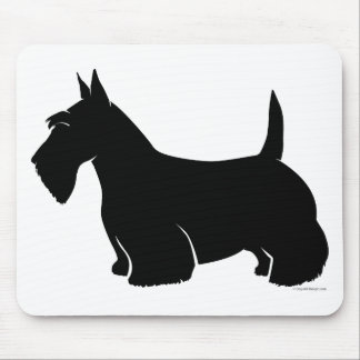Scottish Terrier Classic Silhouette Mouse Pad
