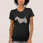 Scottish Terrier Classic Silhouette T Shirt