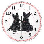 Scottish Terrier Clock
