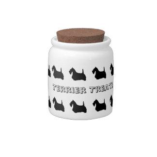 Scottish Terrier Cookie Jar Candy Jars