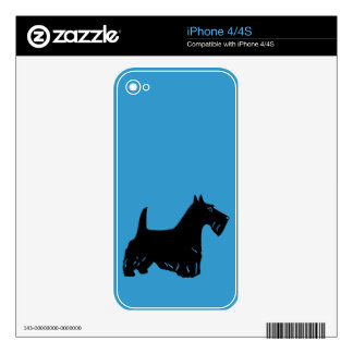 Scottish Terrier Decal For The iPhone 4S