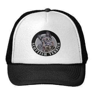 Scottish Terrier Dog 002 Hat