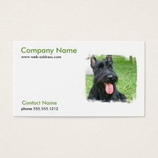 Scottish Terrier Dog Business Card