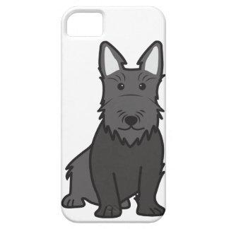 Scottish Terrier Dog Cartoon iPhone SE/5/5s Case