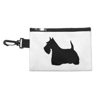 Scottish Terrier dog cute black silhouette, gift Accessories Bags
