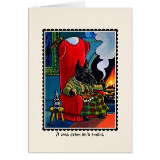 Scottish Terrier Dog Notecard Card