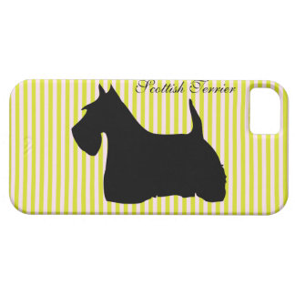 Scottish Terrier dog silhouette iphone 5 case mate