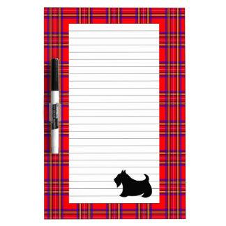 Scottish Terrier Dry Erase Board