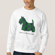 Scottish Terrier Duncan Tartan Sweatshirt