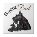Scottish Terrier Father's Day Tiles
