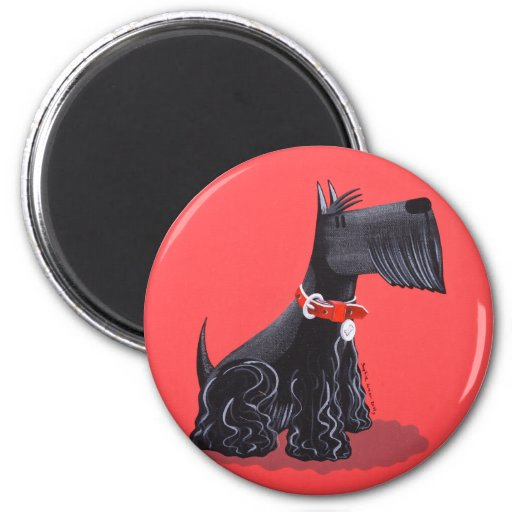 Scottish Terrier Fridge Magnets