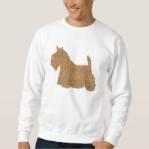 Scottish Terrier Fun Silhouette Sweatshirt