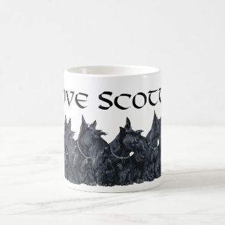 Scottish Terrier Gathering Coffee Mug
