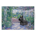 Scottish Terrier Get Well Wishes Cards