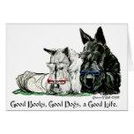Scottish Terrier Good Life Card
