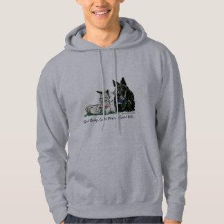 Scottish Terrier Good Life Hooded Sweatshirts
