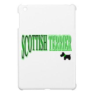 Scottish Terrier Green/Black/White Case For The iPad Mini