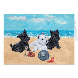 Scottish Terrier Greeting Card