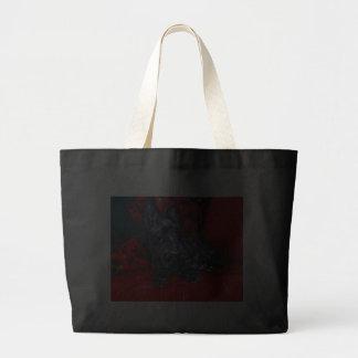 Scottish Terrier Haggis Canvas Bags