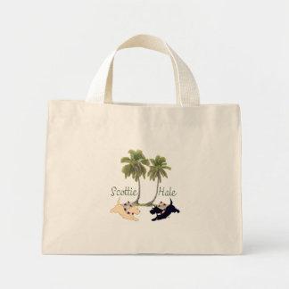 Scottish Terrier Hawaiian Design Bags