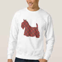 Scottish Terrier Hepburn Tartan Sweatshirt