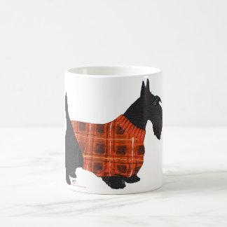 Scottish Terrier in a Sweater Coffee Mug