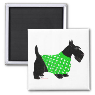 Scottish Terrier in a Sweater Magnet