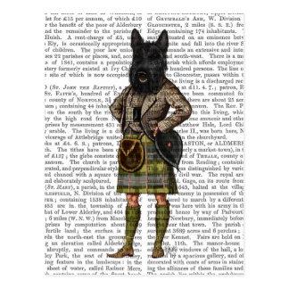 Scottish Terrier in Kilt Postcard