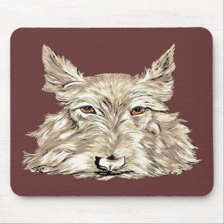 Scottish Terrier in Wheaten Mouse Mats
