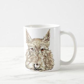 Scottish Terrier in Wheaten Classic White Coffee Mug
