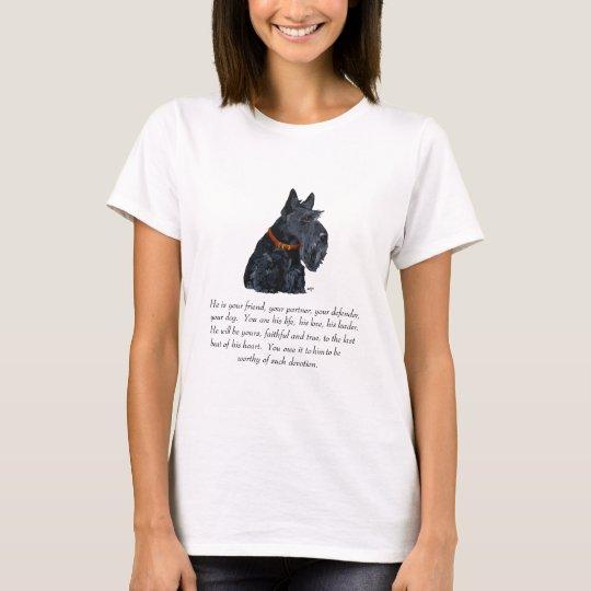 Scottish Terrier Keepsake T-Shirt