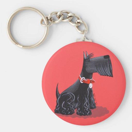 Scottish Terrier Key Chain