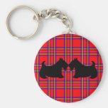Scottish Terrier Keyring Key Chain