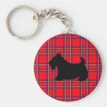 Scottish Terrier Keyring Keychain