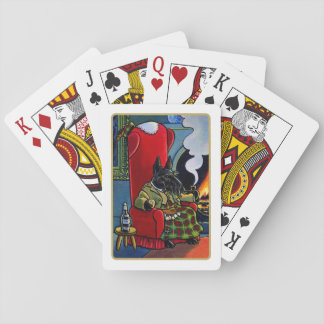 Scottish Terrier Laird Dog Playing Cards Playing Cards