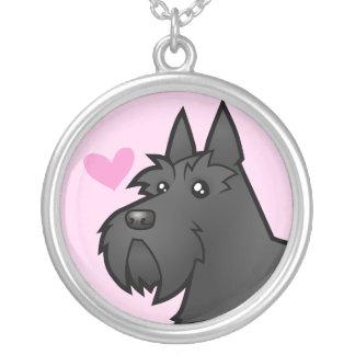 Scottish Terrier Love Pendants