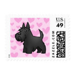 Scottish Terrier Love Postage