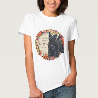 Scottish Terrier Love T Shirt