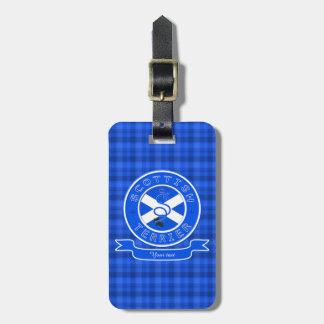 Scottish Terrier Bag Tag