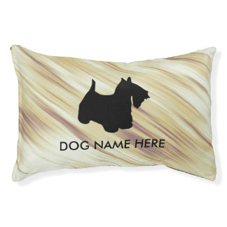 monogram dog beds | zazzle